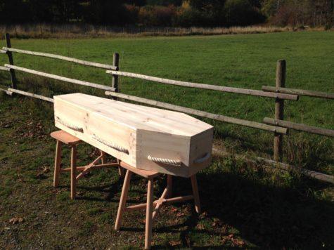 David Scruton's Coffin